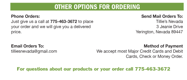 Order Options
